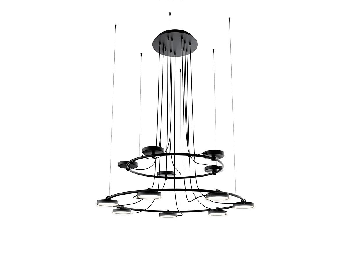 Aro T 3542 T 3543 Suspension Lamp Estiluz Image Product 03