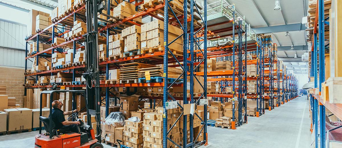 Company Estiluz Factory Storage
