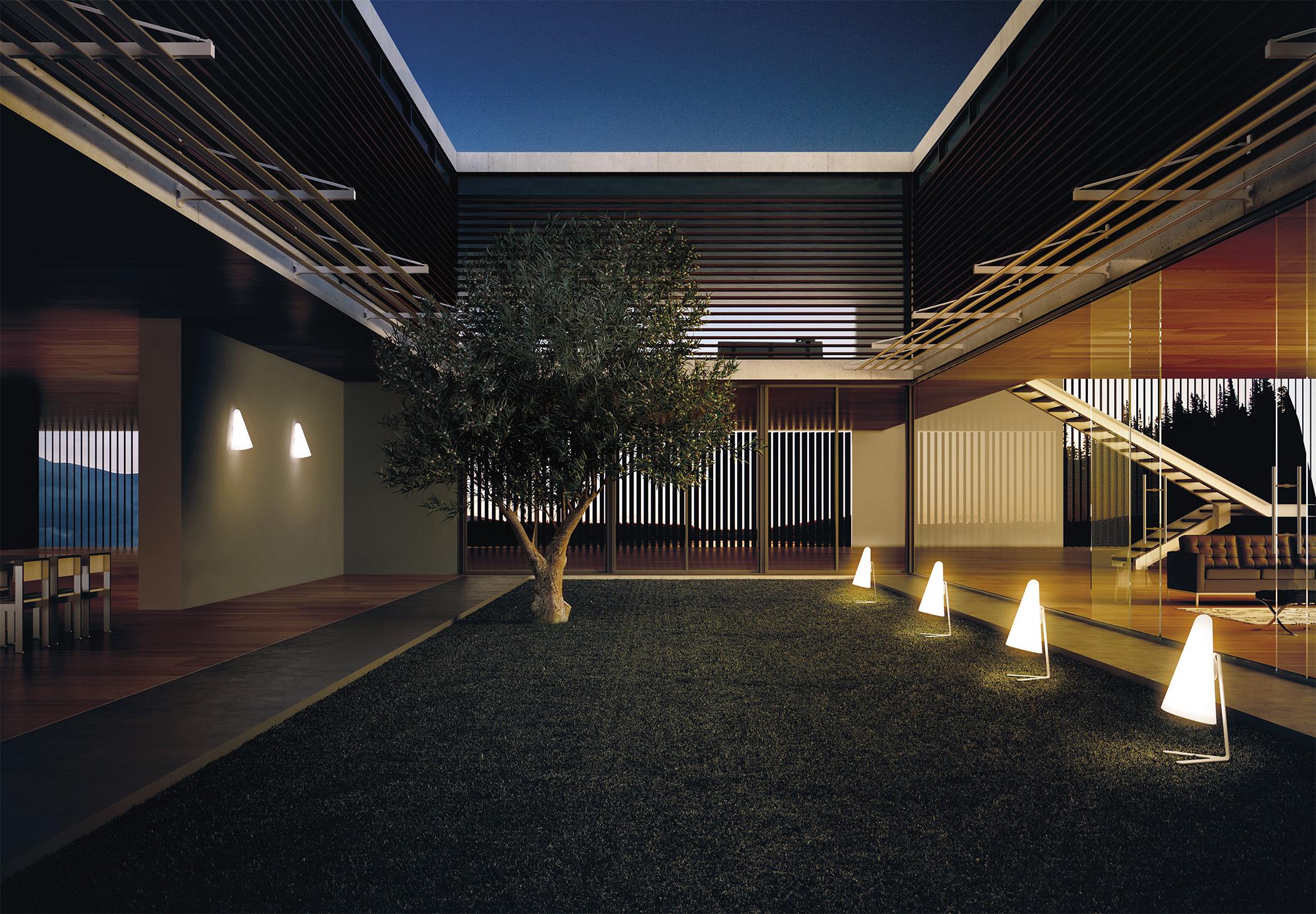 Nan A 3040lx Wall Lamp Estiluz Image Ambient 01