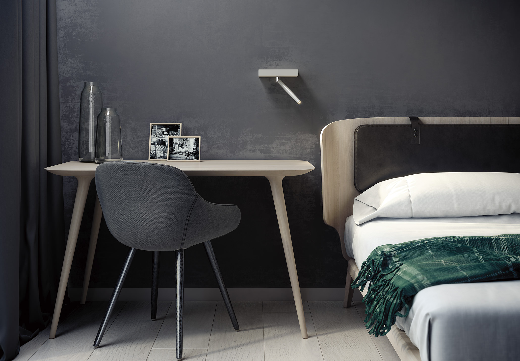 Nit A 3520 Wall Lamp Estiluz Image Ambient 01