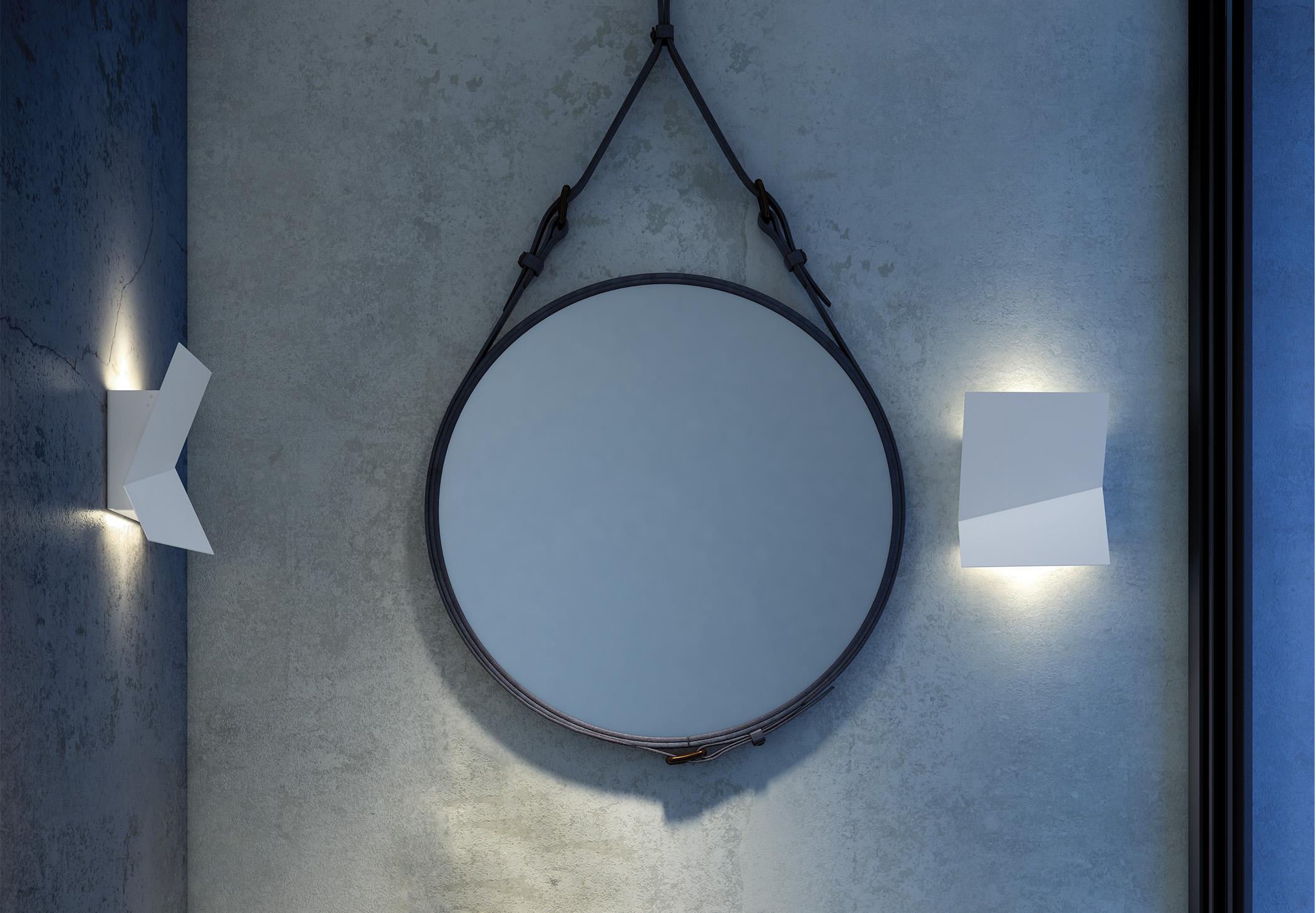 Piu A 3320l Wall Lamp Estiluz Image Ambient 01