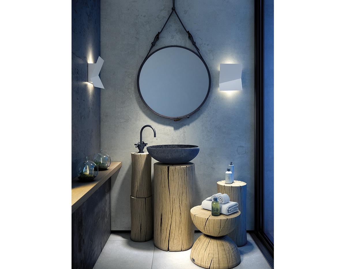 Piu A 3320l Wall Lamp Estiluz Image Product 06