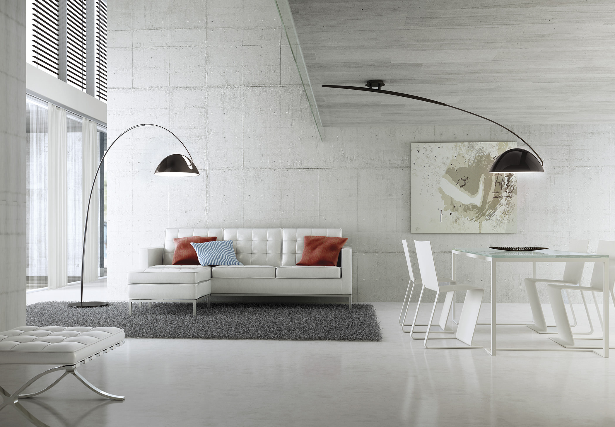 Pluma T 2955 Suspension Lamp Estiluz Image Ambient 01