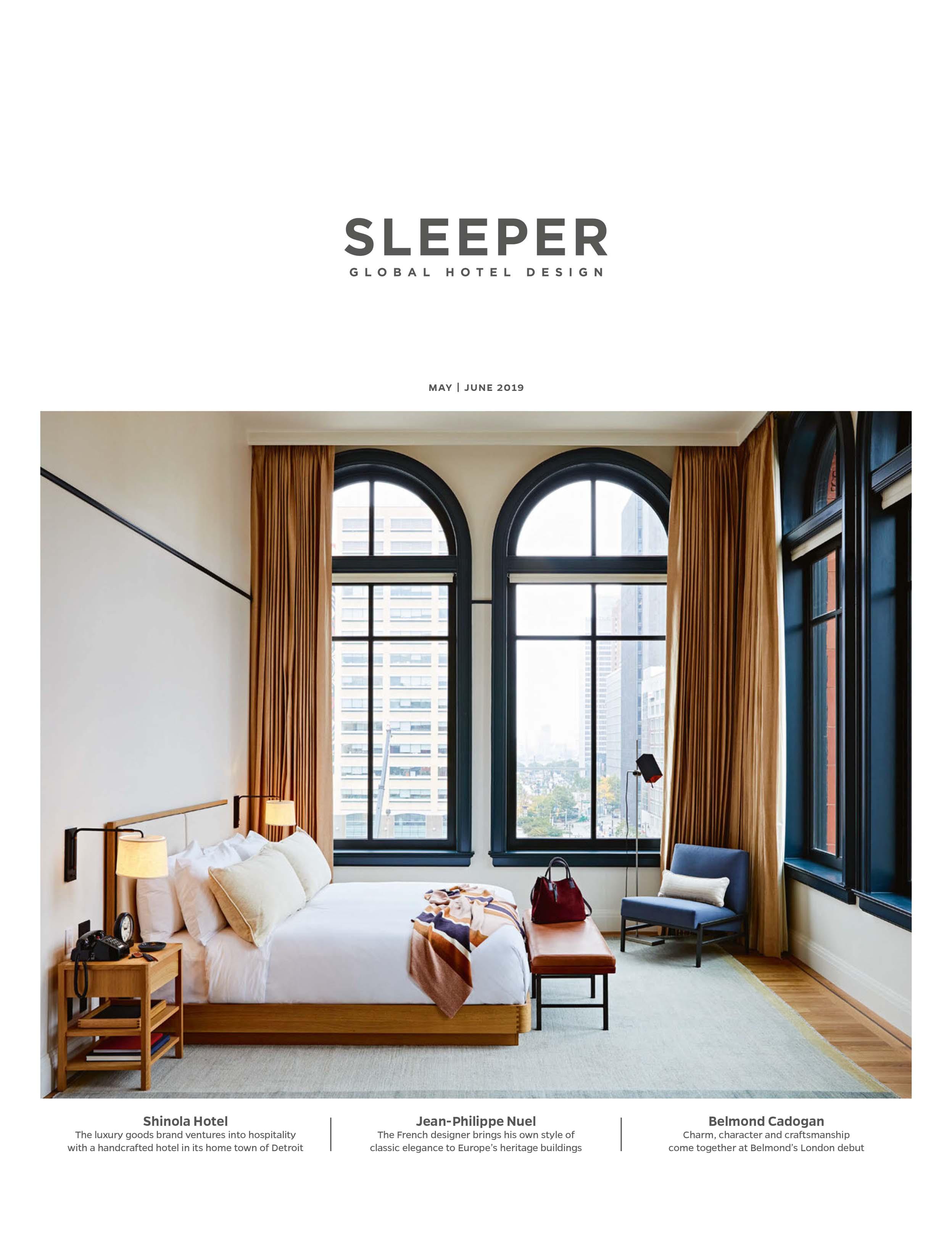 Press Estiluz Sleeper May June19 Cover