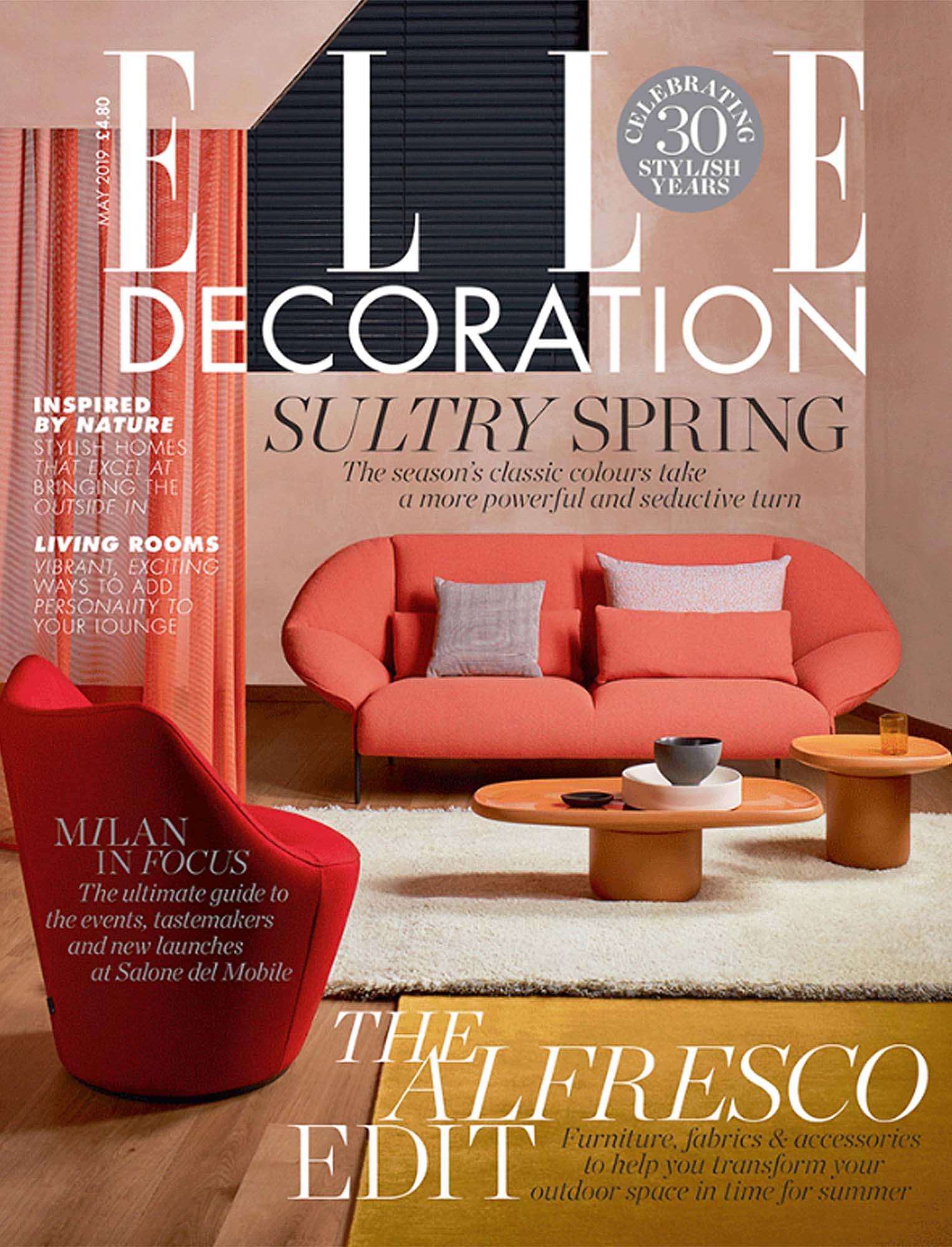 Press Estiluz Elle Decoration May19 Cover