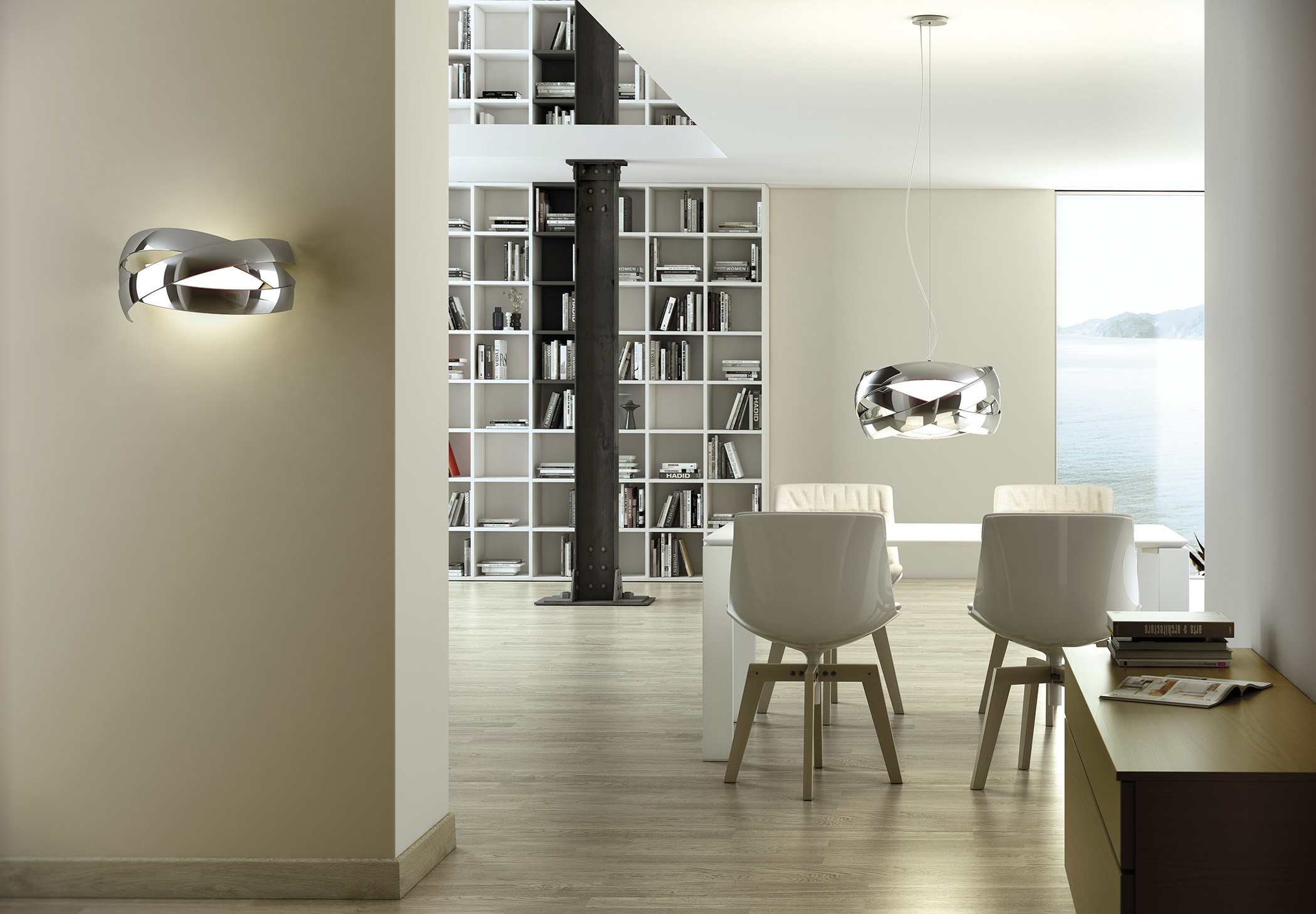Siso A 2990 Wall Lamp Estiluz Image Ambient 01 2