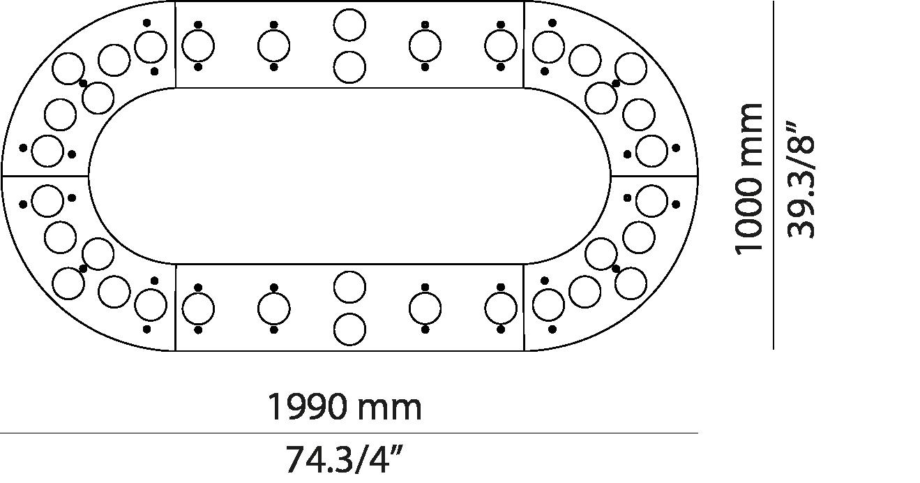 Oval L199.36 /L199.36A