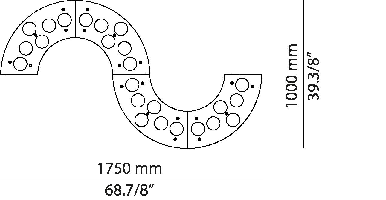 Serpentine S175.24 / S175.24A
