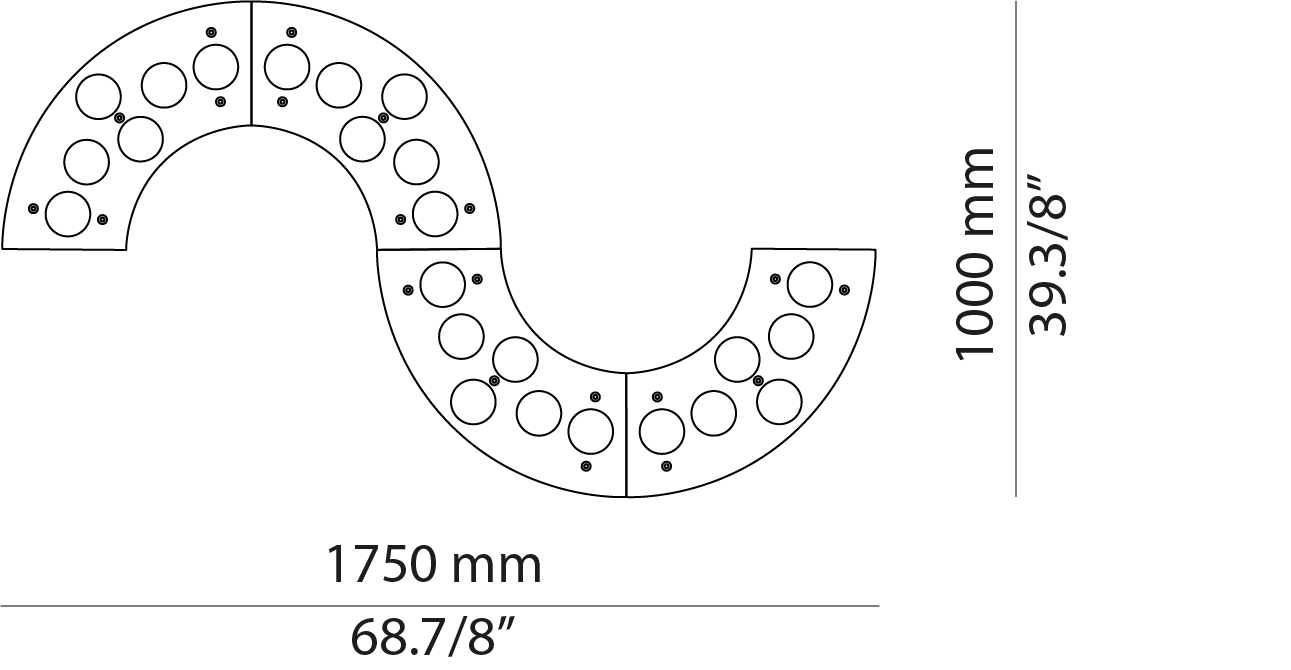 Serpentine L175.24/L175.24A