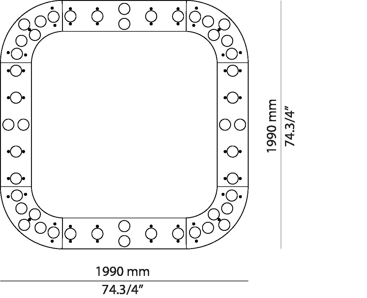Square L199.48 /L199.48A