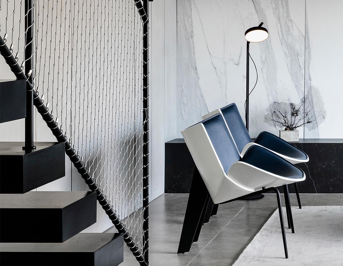 Estiluz Aro P 3548 Floor Lamp Image Ambient 01