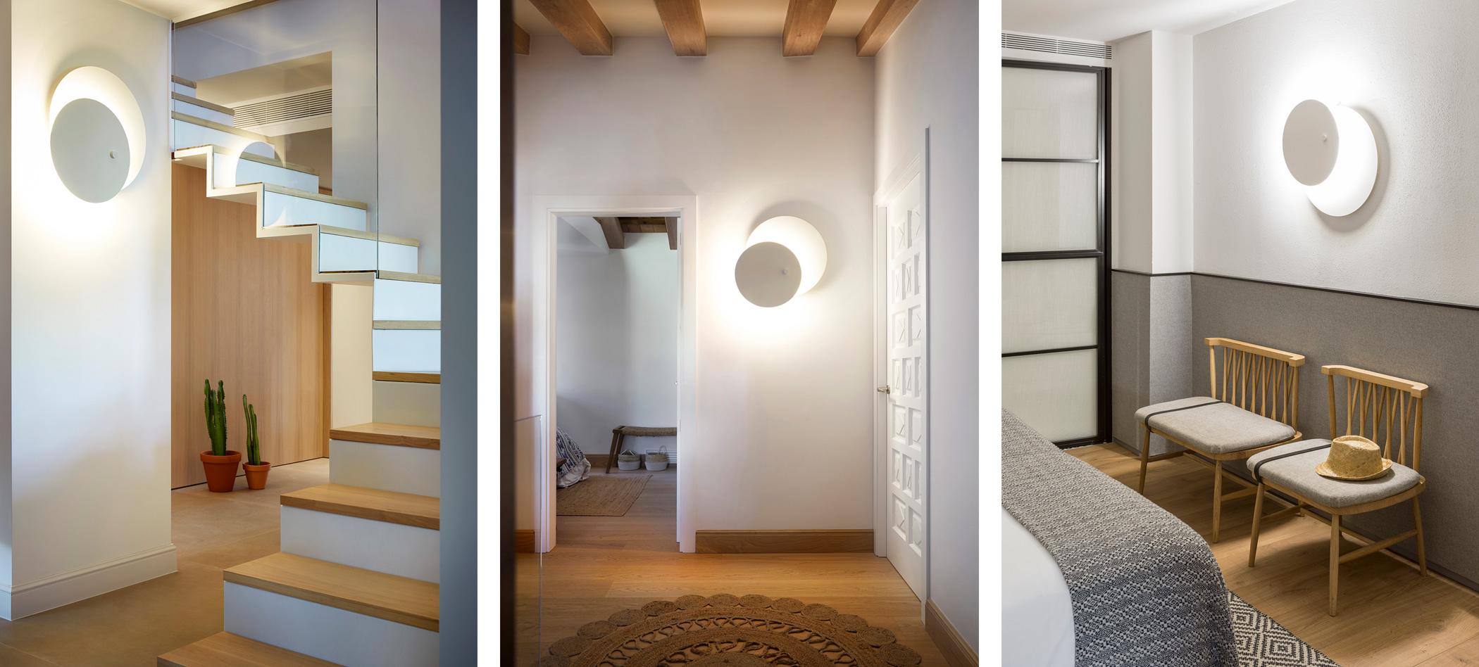 Estiluz Eclipsi A 3700 Wall Light Ambient