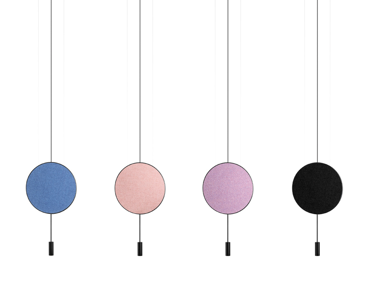 Revolta T 3635 Suspension Lamp Estiluz Acoustic Panels