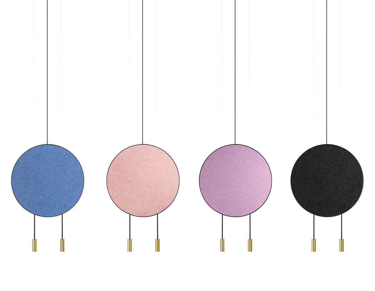 Revolta T 3636 Suspension Lamp Estiluz Acoustic Panels